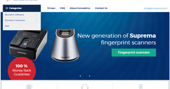 Innovatrics Launches New Online Store