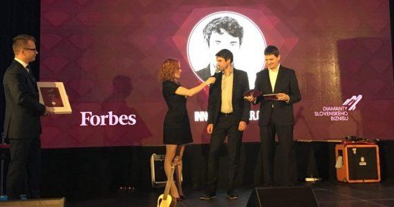 Innovatrics shines brightest at Forbes 'Diamonds of Slovak Business' awards