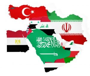 Flags Middle East