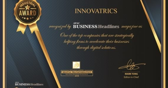 Innovatrics Included in the 10 Fastest Growing Digital Transformation Solution Providers in 2019