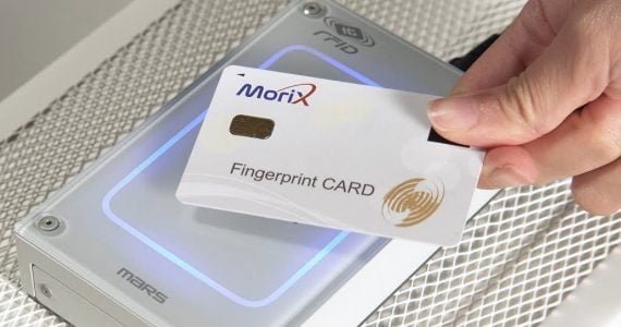 Innovatrics and MoriX Introduce Pioneering Fingerprint On-card Authentication