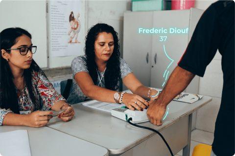Registration Application with Biometrics