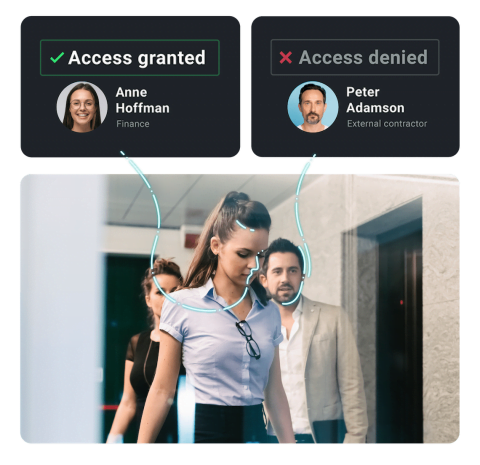 SmartFace Facial Recognition Access Granting