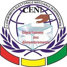 La Commission Électorale Nationale Indépendante (CENI), Guinea LOGO
