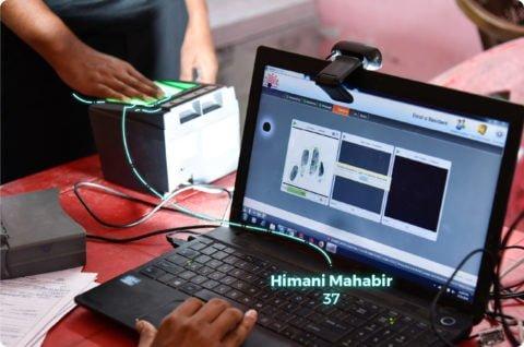 Biometric Fingerprint Use case