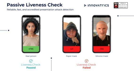 Innovatrics passive liveness iBeta 2 compliant