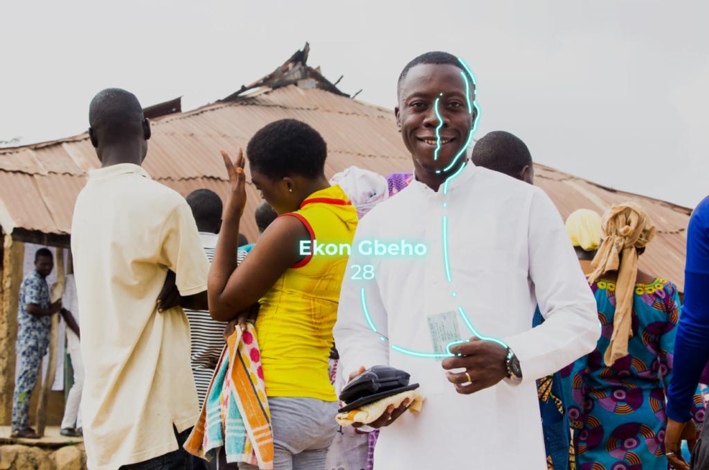Biometric-help elections in Guinea