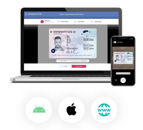 Digital Onboarding ID Card Scanning