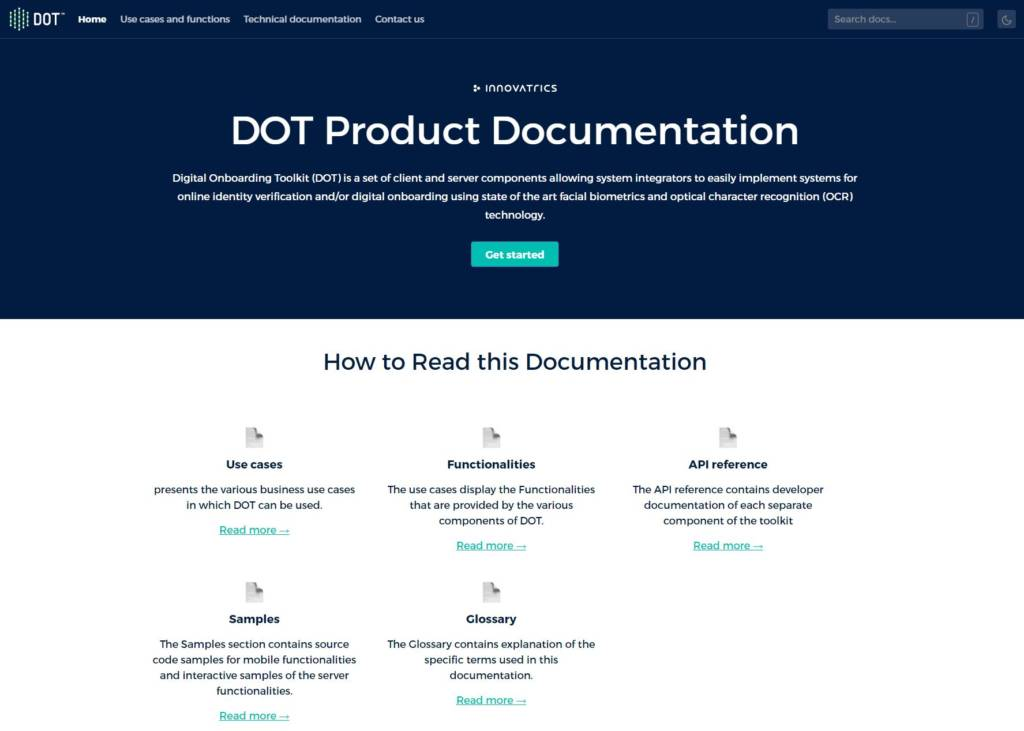 Digital Onboarding Toolkit Technical Documentation Is Now Available Online
