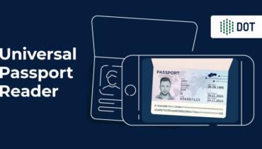 Digital Onboarding universal passport MRZ reader